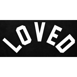 LOVED  - Sticker