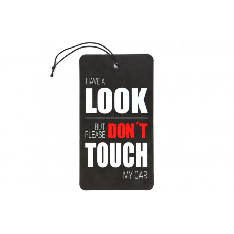 Look dont touch Air Freshener Duftbaum Scents