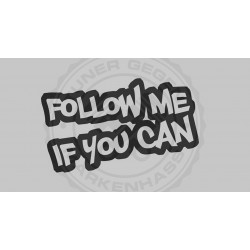 follow me if you can
