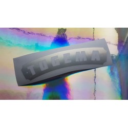 Tugema Sticker Oil Slick - Negativ