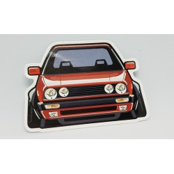 Digitaldruck Sticker Tuning VW Golf